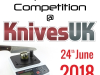 Announcement: The 'Sharpest Knife' Competition at KnivesUK 2018