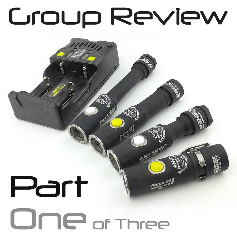 Light Review: Armytek Prime Pro – PART 1 – C1 / C2 USB Magnet