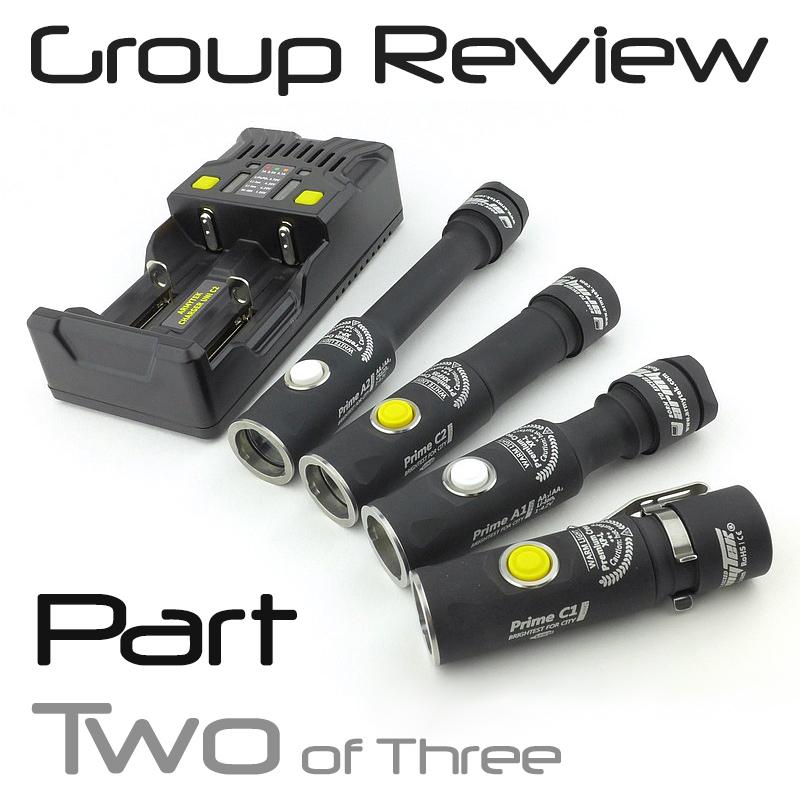 Light Review: Armytek Prime Pro – PART 2 – A1 / A2 / Uni C2