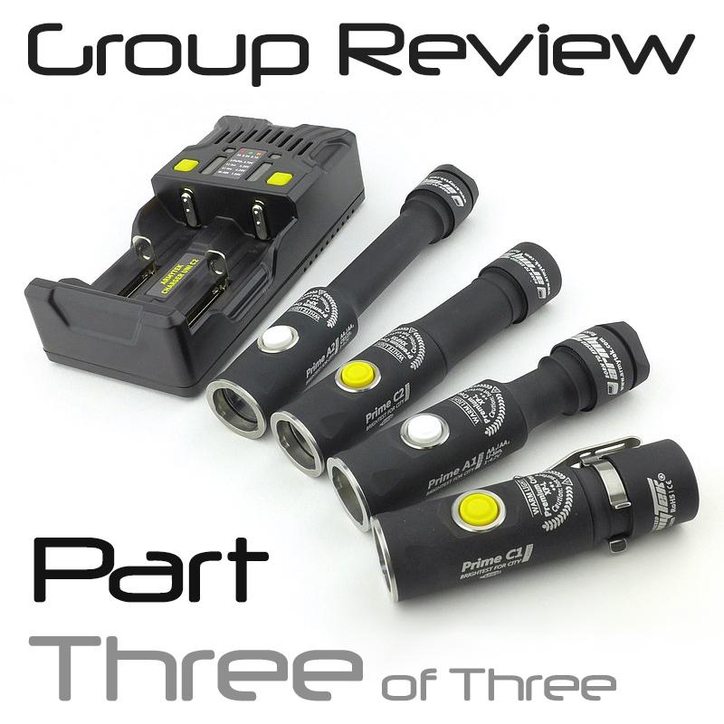 Light Review: Armytek Prime Pro – PART 3 – The Results
