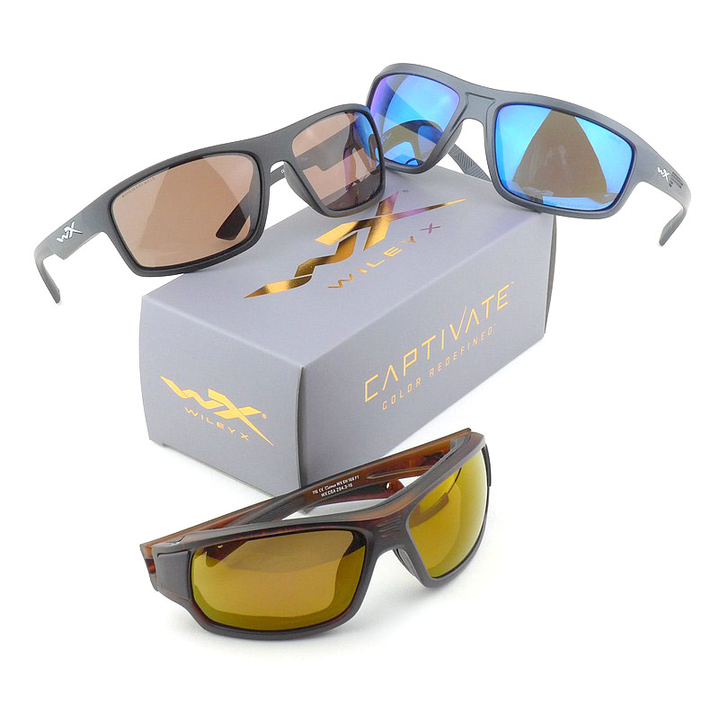 Gear Review: Wiley X Captivate Lenses (Models shown – Contend, Peak and Breach)