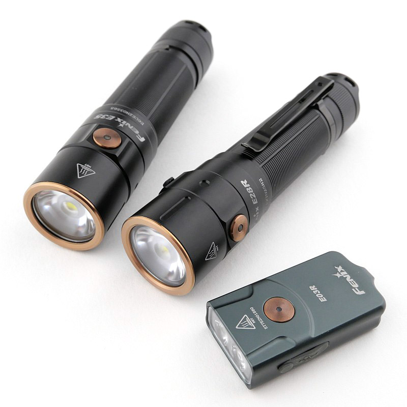 Light Review: Fenix E03R, E28R and E35 V3.0