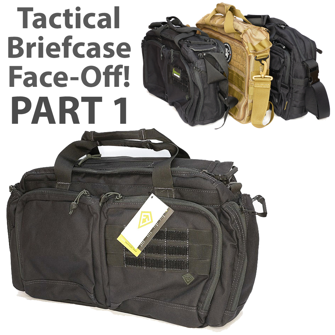 Tactical Briefcase Face-Off Part 1: First Tactical