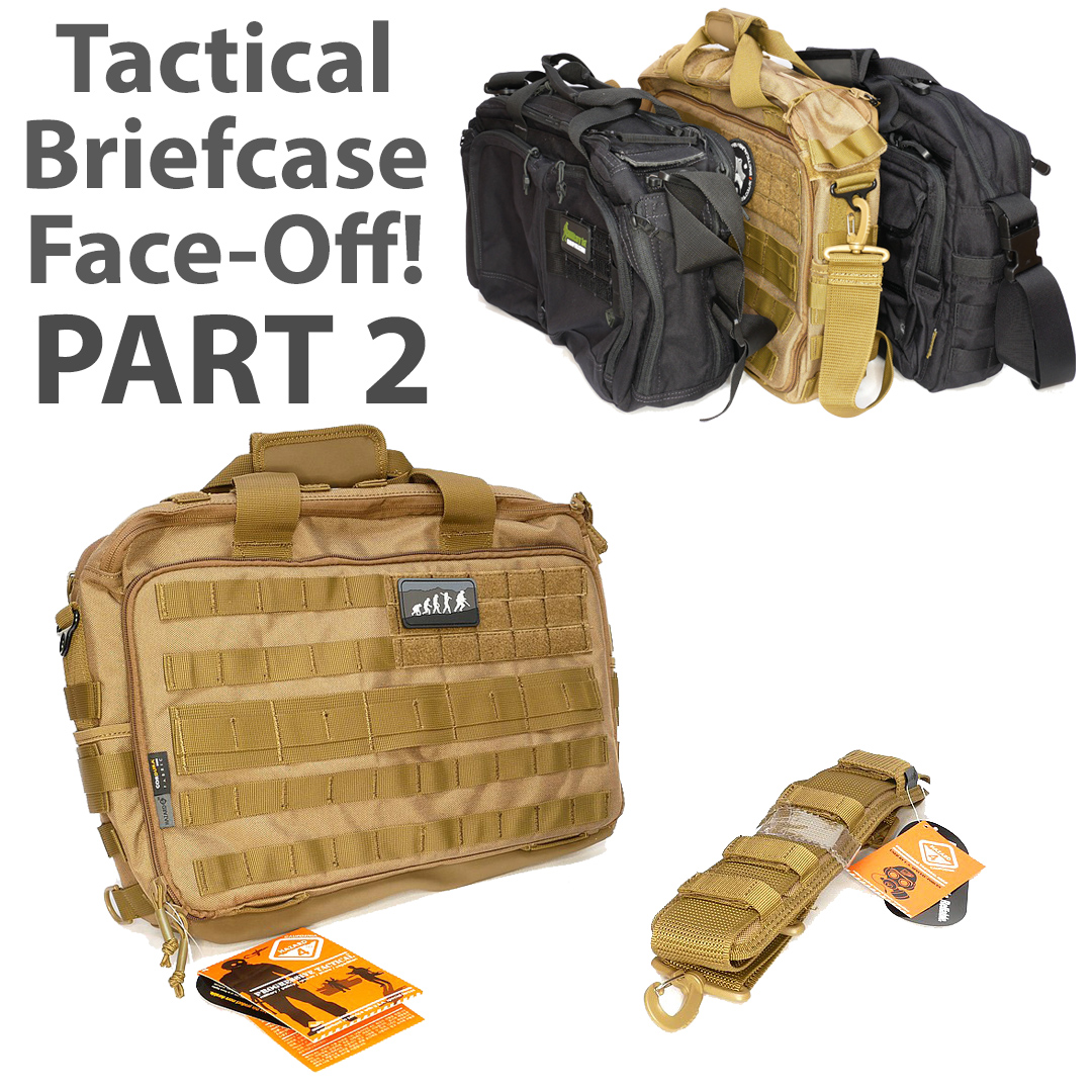 Tactical Briefcase Face-Off Part 2: Hazard 4
