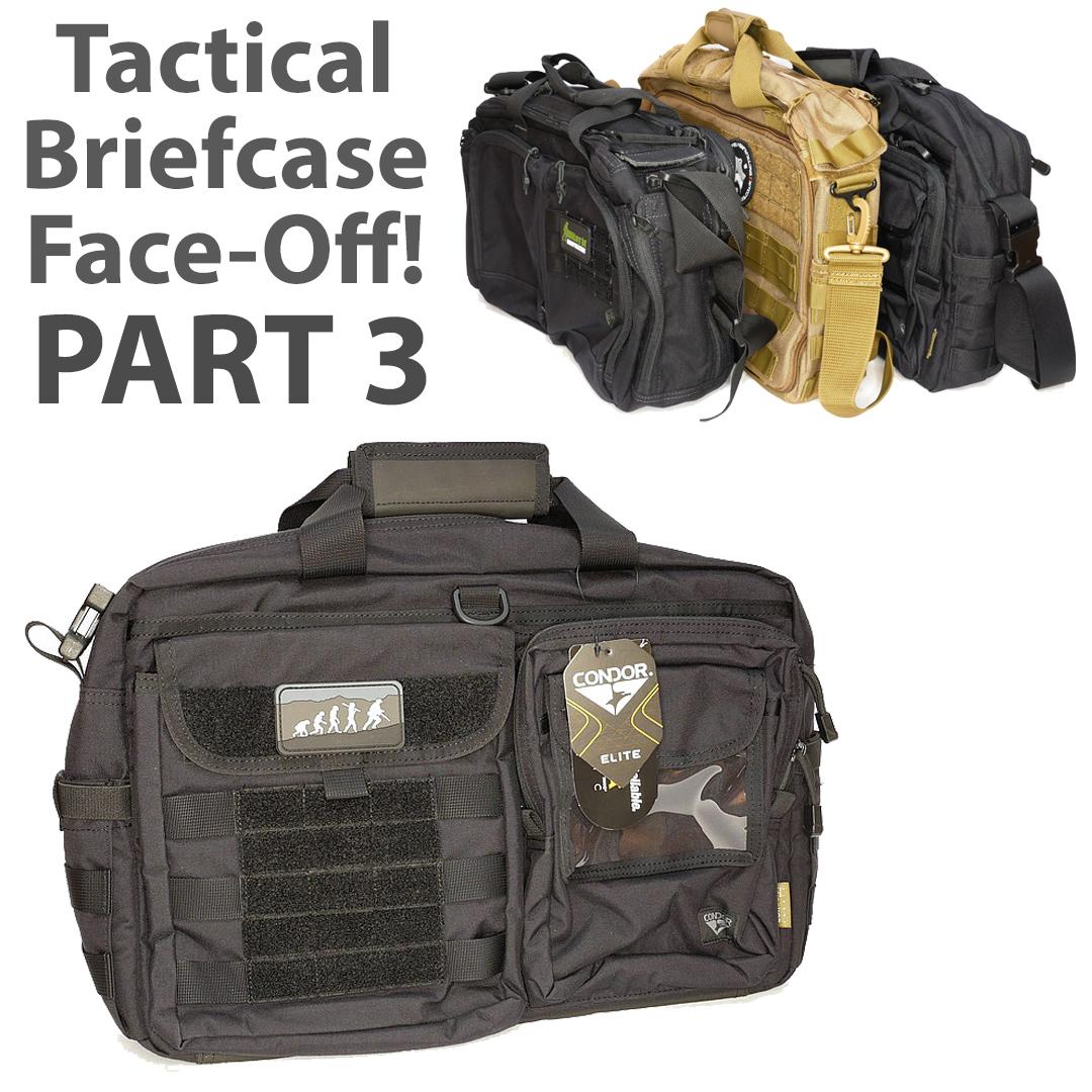 Tactical Briefcase Face-Off Part 3: Condor