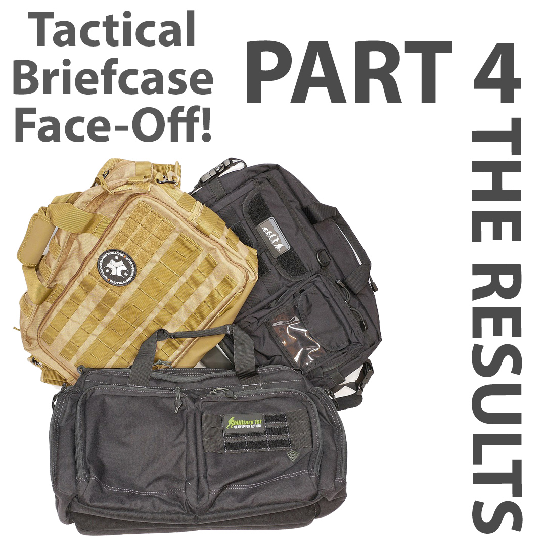Tactical Briefcase Face-Off Part 4: The Results